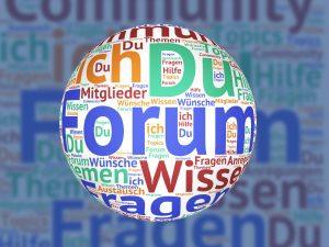 Разработка сайта форума